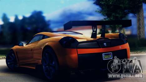 Pegassi Osiris from GTA 5 para GTA San Andreas left