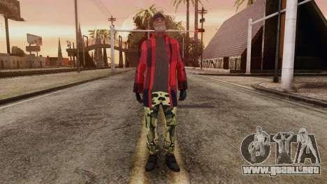 New Homeless Skin para GTA San Andreas