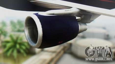 Airbus A320-200 British Airways para la visión correcta GTA San Andreas