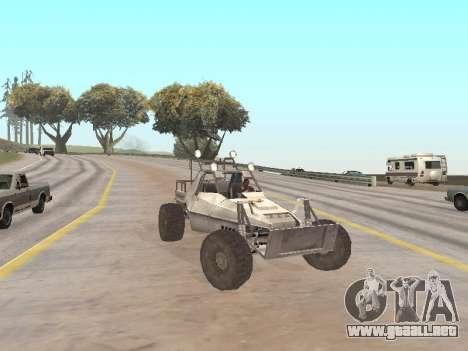 Buggy from Just Cause para la visión correcta GTA San Andreas