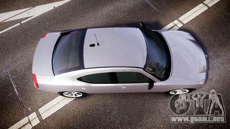 Dodge Charger Police Unmarked [ELS] para GTA 4 visión correcta