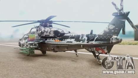 Changhe WZ-10 para GTA San Andreas left