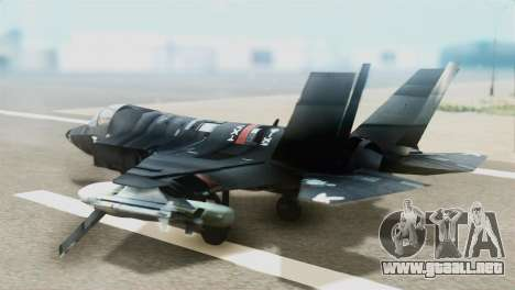 F-35B Polish Air Force 1. ELT para GTA San Andreas left