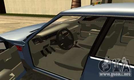 Renault 11 TXE Taxi para vista lateral GTA San Andreas