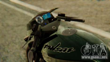 Bajaj Rouser 135 para la visión correcta GTA San Andreas