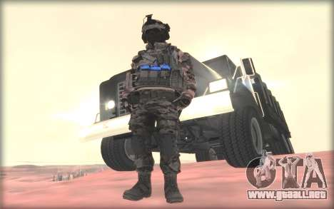 BF3 Soldier para GTA San Andreas