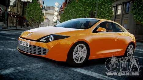 Renault Laguna Coupe para GTA 4 vista interior
