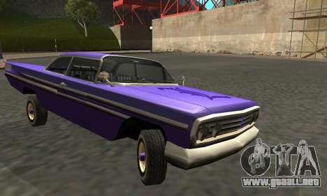 Luni Voodoo Remastered para visión interna GTA San Andreas