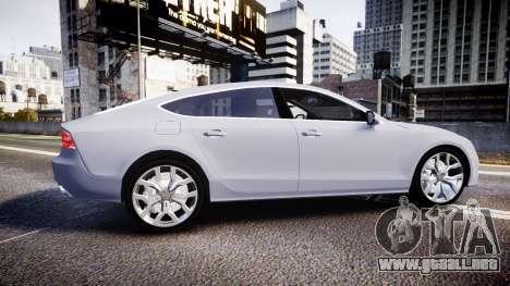 Audi A7 para GTA 4 left