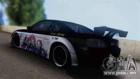 Nissan Silvia S15 K-on Itasha para GTA San Andreas left