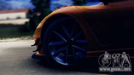Pegassi Osiris from GTA 5 para GTA San Andreas vista hacia atrás