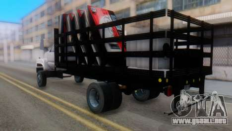 GMC Top Kick 88-95 para GTA San Andreas left