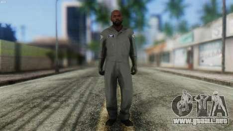 Pilot Skin from GTA 5 para GTA San Andreas