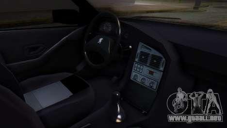 Peugeot 405 GLX Police para la visión correcta GTA San Andreas