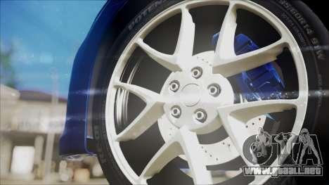 Nissan Maxima 2009 para la visión correcta GTA San Andreas