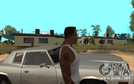 Цепь Monster Energy para GTA San Andreas tercera pantalla