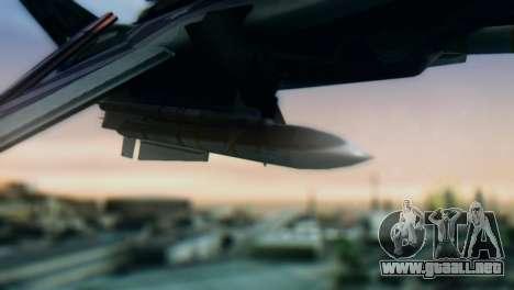 F-14D Azusa Miura The Idolmaster para la visión correcta GTA San Andreas
