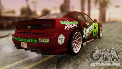 GTA 5 Bravado Buffalo Sprunk HQLM para GTA San Andreas left
