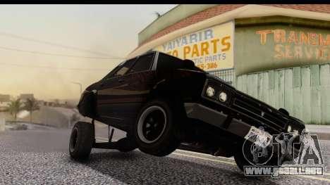GTA 5 Vulcar Warrener IVF para la visión correcta GTA San Andreas