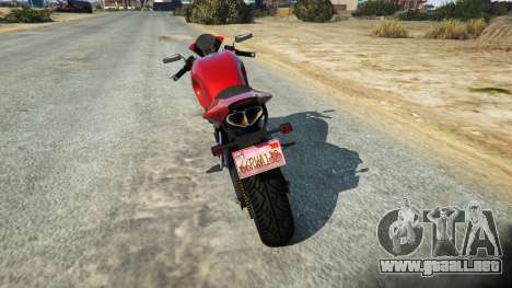GTA 5 LC VC License plate segunda captura de pantalla