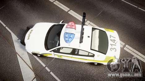 Dodge Charger Surete Du Quebec [ELS] para GTA 4 visión correcta