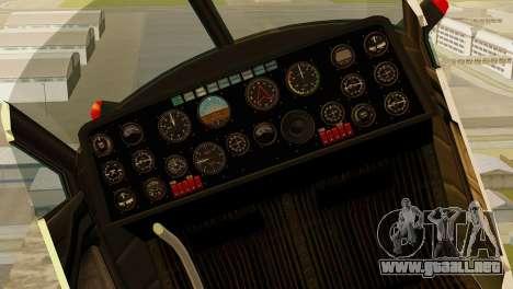GTA 5 Dodo v1 para la visión correcta GTA San Andreas
