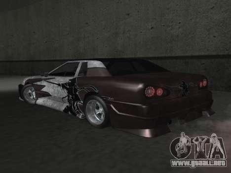 Elegy Paintjobs para la vista superior GTA San Andreas
