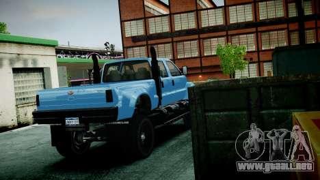 GTA 5 Guardian para GTA 4 vista hacia atrás