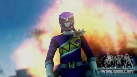 Power Rangers Skin 6 para GTA San Andreas tercera pantalla