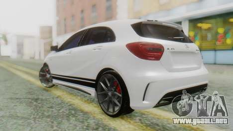 Mercedes-Benz A45 AMG para GTA San Andreas left