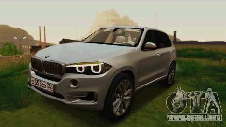 BMW X5 F15 2014 para el motor de GTA San Andreas