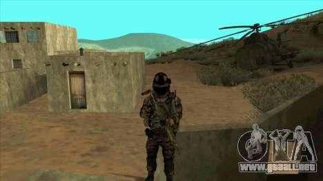 BF3 Soldier para GTA San Andreas quinta pantalla
