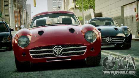Benefactor Stirling GT from GTA 5 para GTA 4