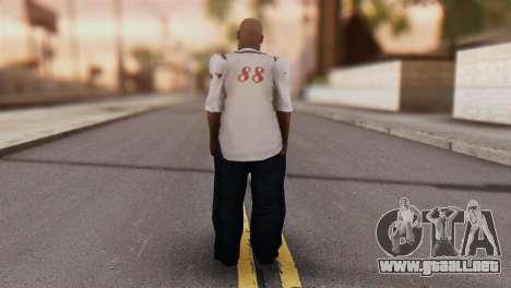 Big Smoke Skin 1 para GTA San Andreas segunda pantalla