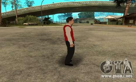 Casino Skin para GTA San Andreas quinta pantalla