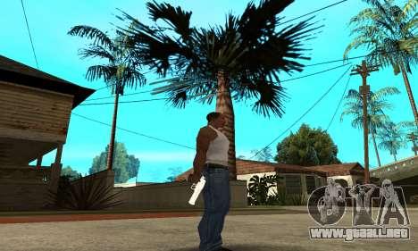 Metalic Deagle para GTA San Andreas tercera pantalla