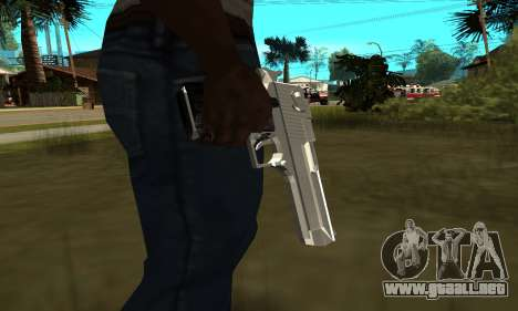 Metalic Deagle para GTA San Andreas