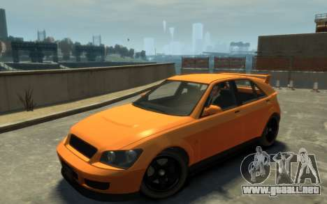 Karin Sultan Hatchback v2 para GTA 4