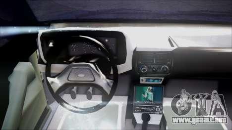 Ford Escort para GTA San Andreas vista hacia atrás