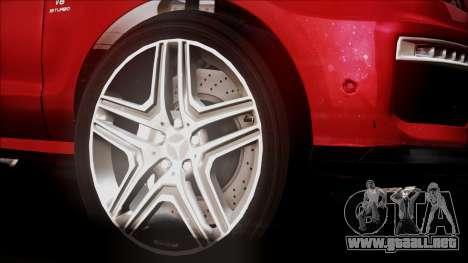 Mercedes-Benz ML 63 AMG 2014 para la visión correcta GTA San Andreas