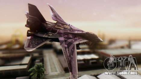 F-14D Azusa Miura The Idolmaster para GTA San Andreas left