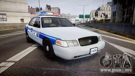 Ford Crown Victoria Liberty Police [ELS] para GTA 4