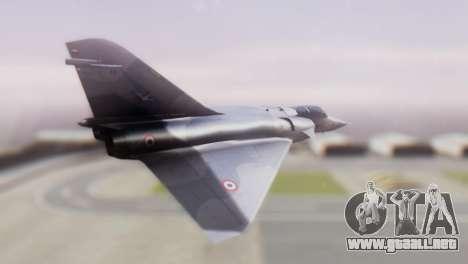 Dassault Mirage 4000 French Air Force para GTA San Andreas left