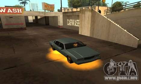 Cleo De Neón para GTA San Andreas tercera pantalla
