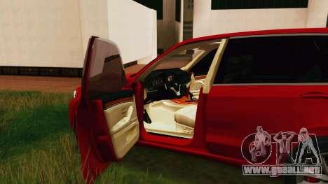 BMW X5 F15 2014 para la visión correcta GTA San Andreas