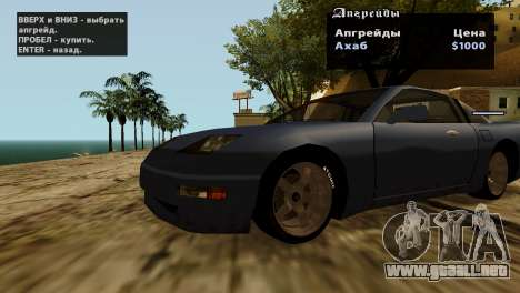 Ruedas de GTA 5 v2 para GTA San Andreas undécima de pantalla