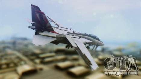F-14A Tomcat VF-111 Sundowners High Visibility para GTA San Andreas left