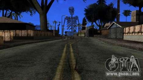 Skeleton Skin v3 para GTA San Andreas segunda pantalla
