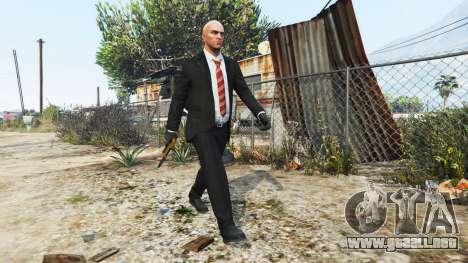 GTA 5 Hitman - Agente 47 segunda captura de pantalla