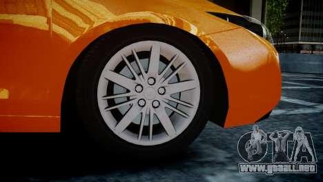Renault Laguna Coupe para GTA 4 Vista posterior izquierda